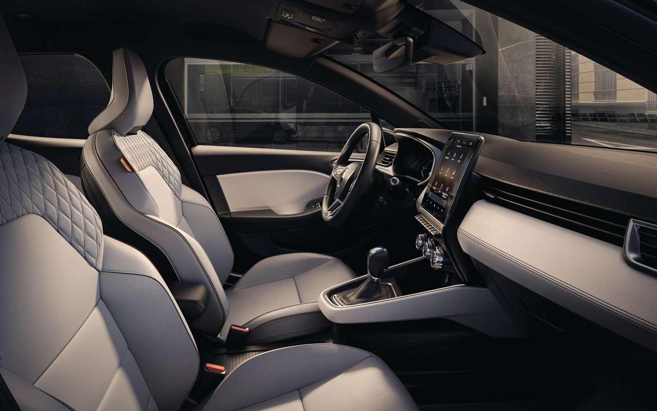 Renault показала салон нового Clio— фото 943984