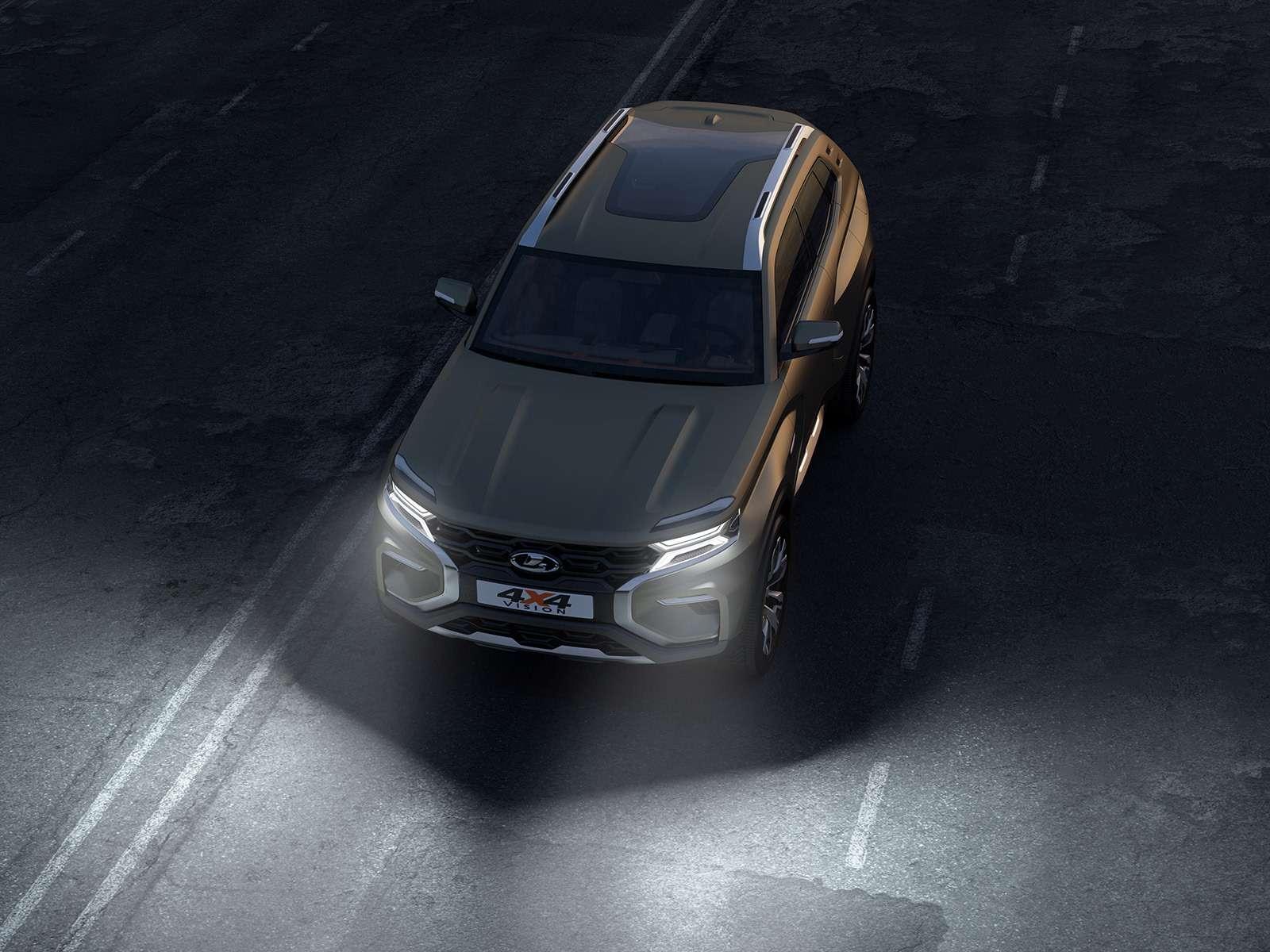 Lada 4x4 Vision: рассматриваем совсех сторон— фото 902319