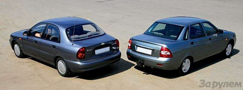 Блицтест Lada Priora, Chevrolet Lanos: Кредит доверия— фото 345012