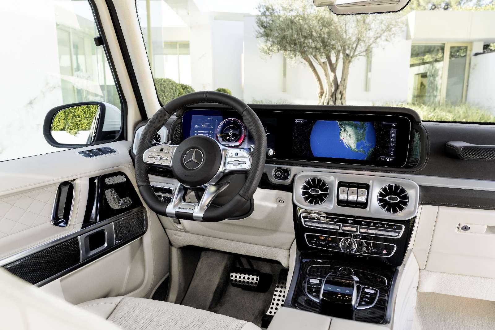 Мажорваген: представлен новый Mercedes-AMG G63— фото 844642