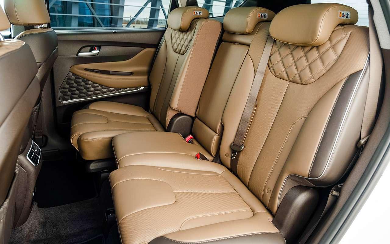 Обновленный Hyundai Santa Fe: тест самой мощной версии— фото 1249467