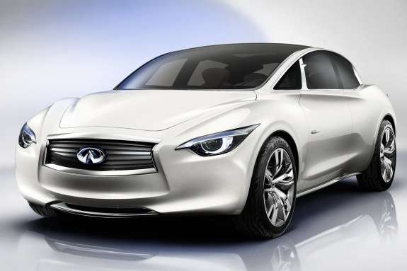 Infiniti Etherea Concept side-front view