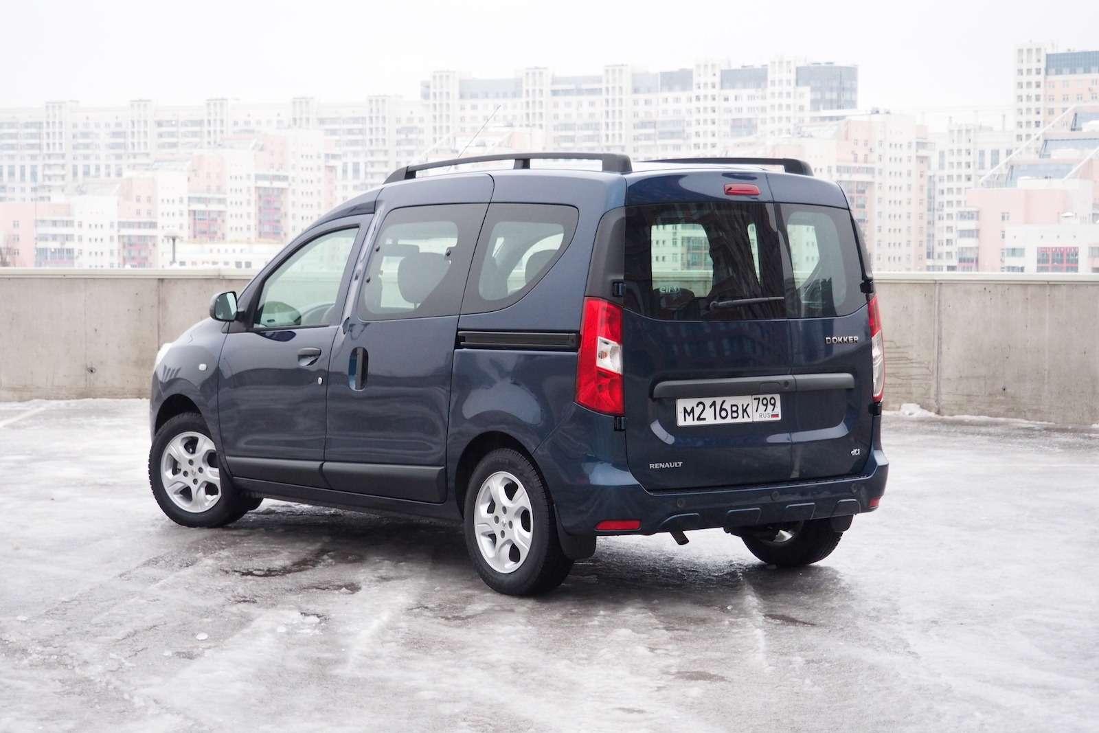 Renault Dokker— первый тест ипервые вопросы— фото 825725