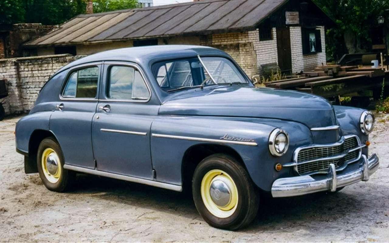 Наши заграницей: вочто превращались автомобили СССР вКитае, Корее, наКубе— фото 963667