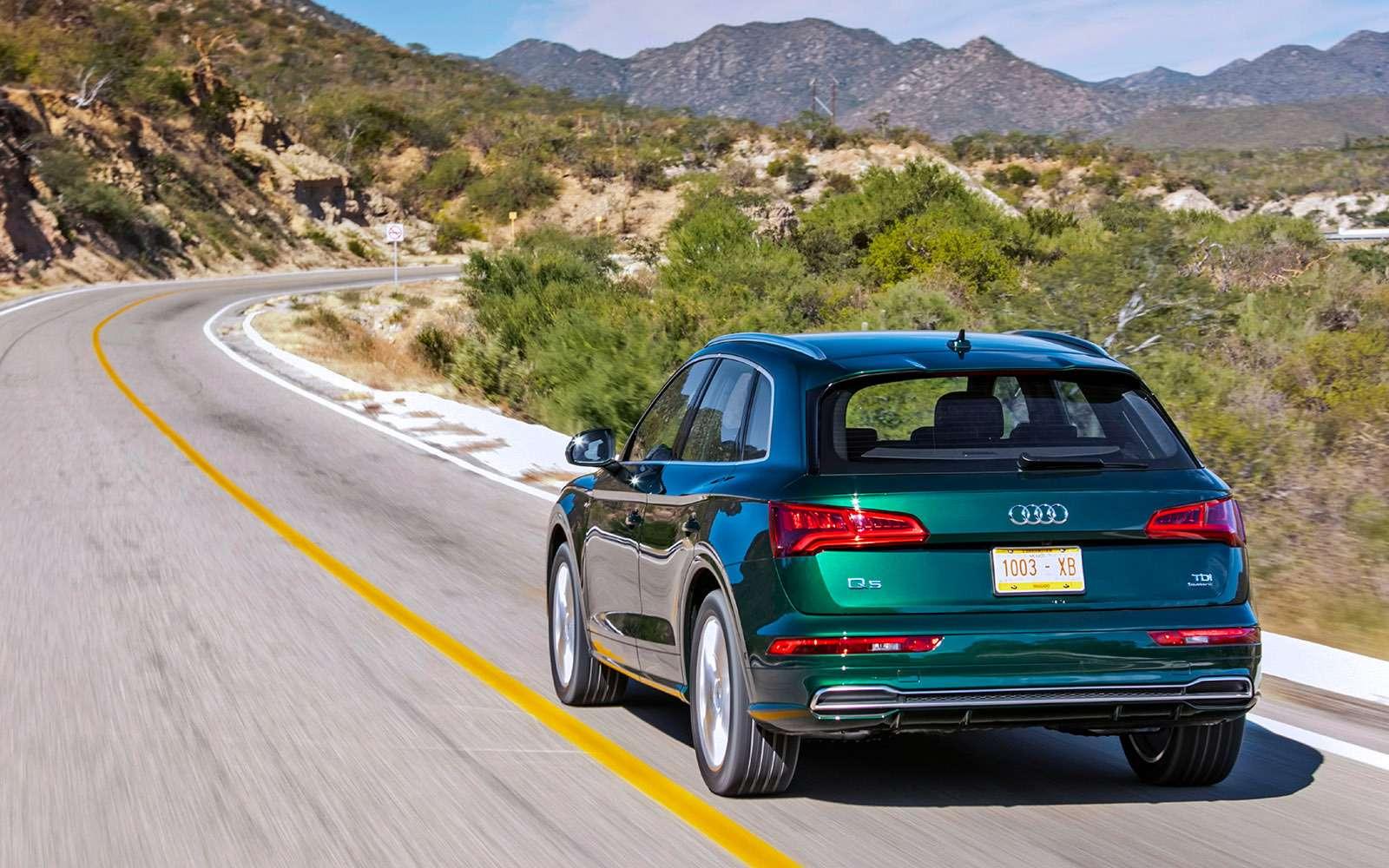 Новый Audi Q5quattro ultra— первый тест— фото 713317