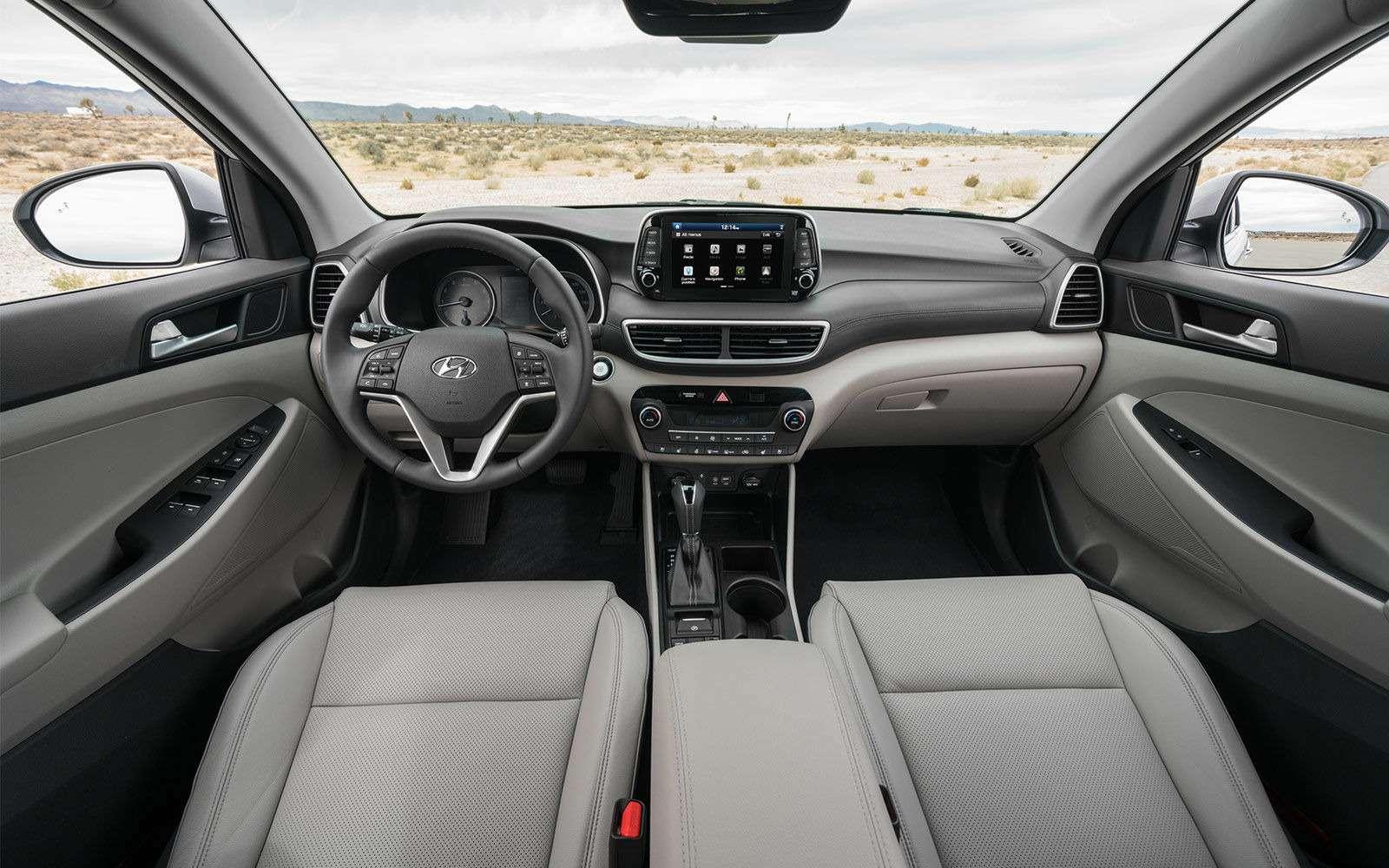 Обновленный Hyundai Tucson дляРоссии: первые подробности— фото 889747