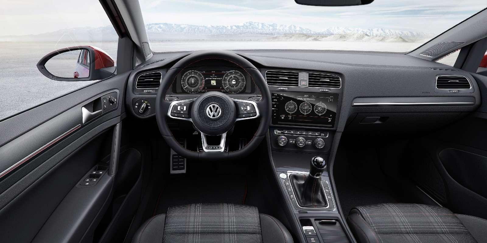 Дальнейшая оцифровка: Volkswagen представил обновленный Golf— фото 661701