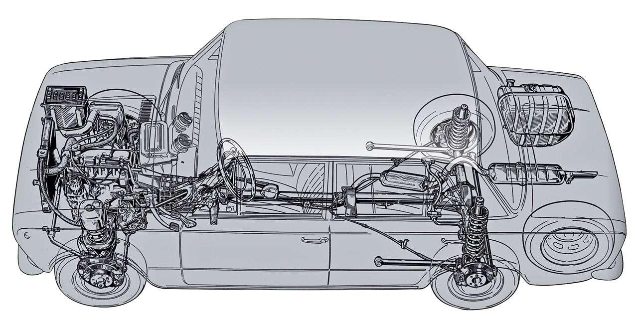 «Копейка» - копия Fiat 124? Ищем десять отличий - фото 900945