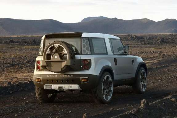 Land Rover DC100 Concept side-rear view