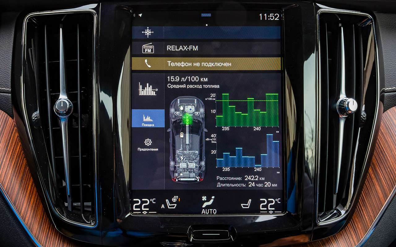 Самый быстрый Volvo: гибридный тест-драйв— фото 1120177