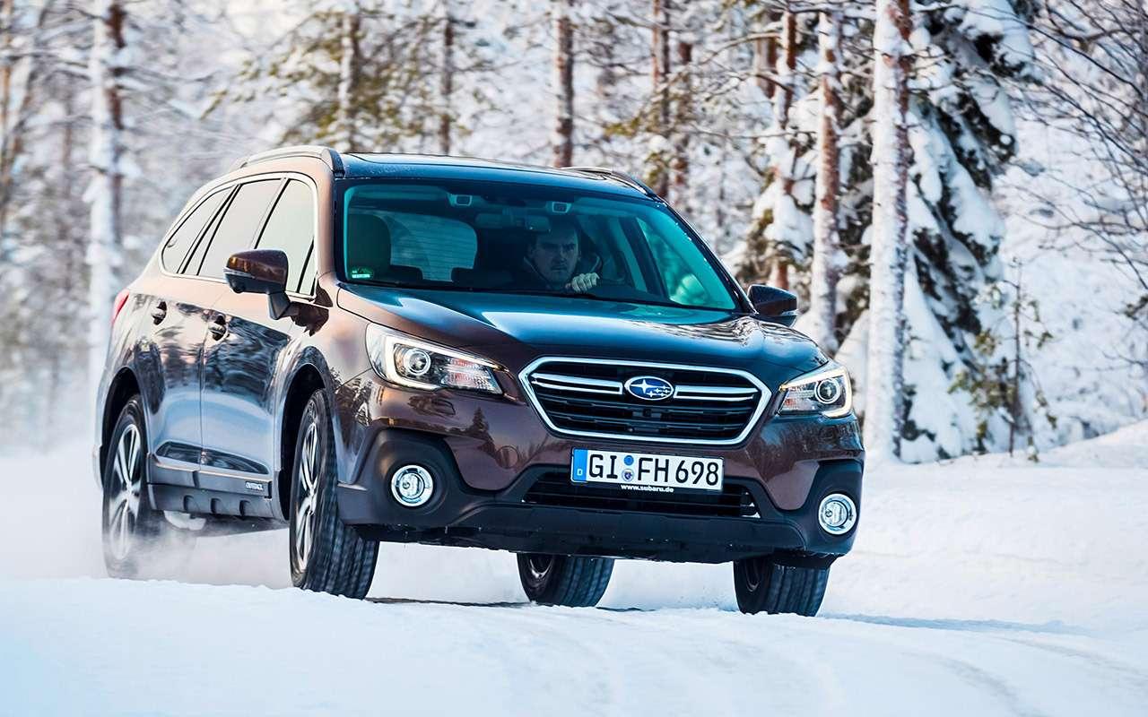 Обновленный Subaru Outback— тест-драйв— фото 859143