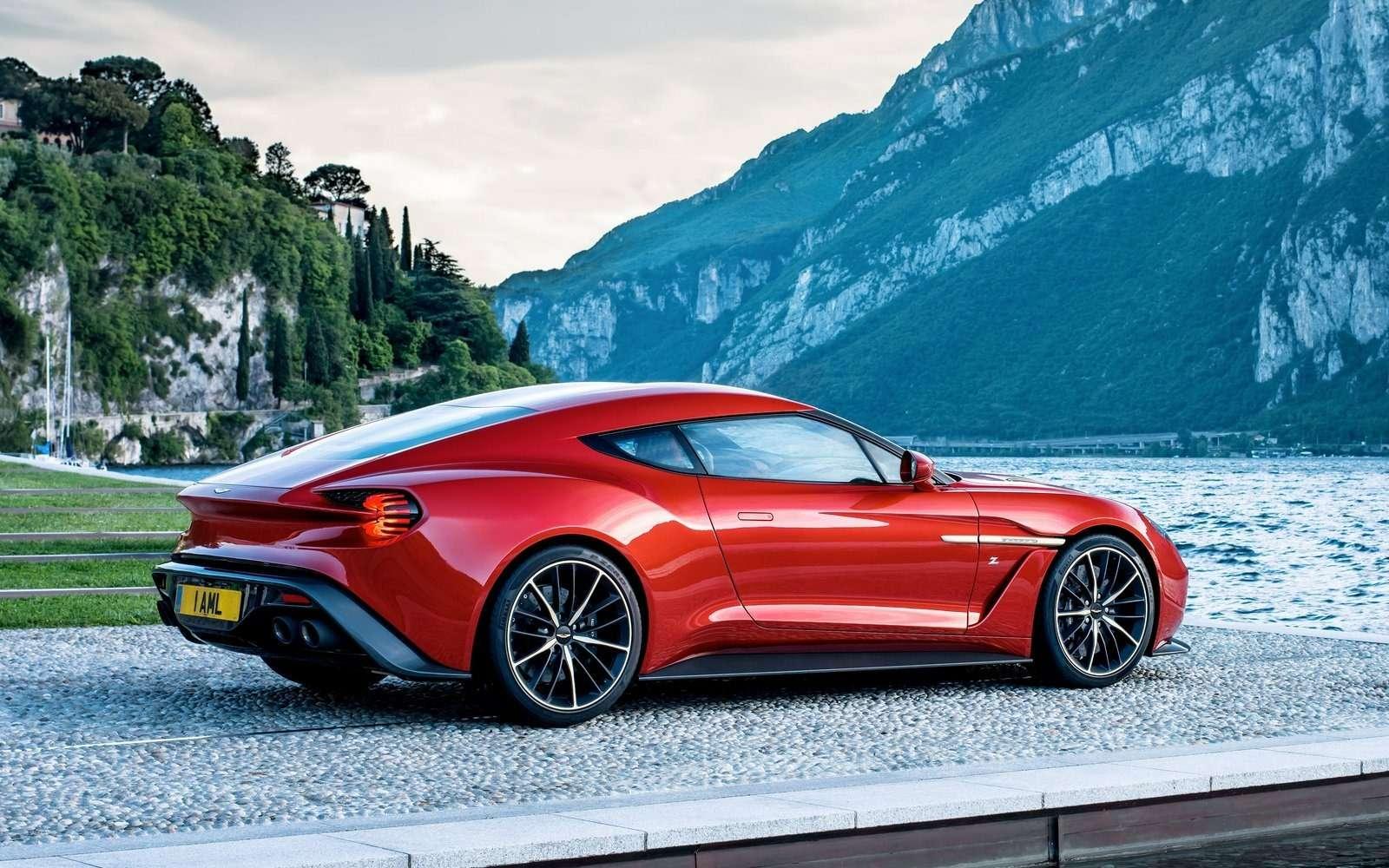 Этакрасота должна жить: Aston Martin Vanquish Zagato запустят впроизводство— фото 600876