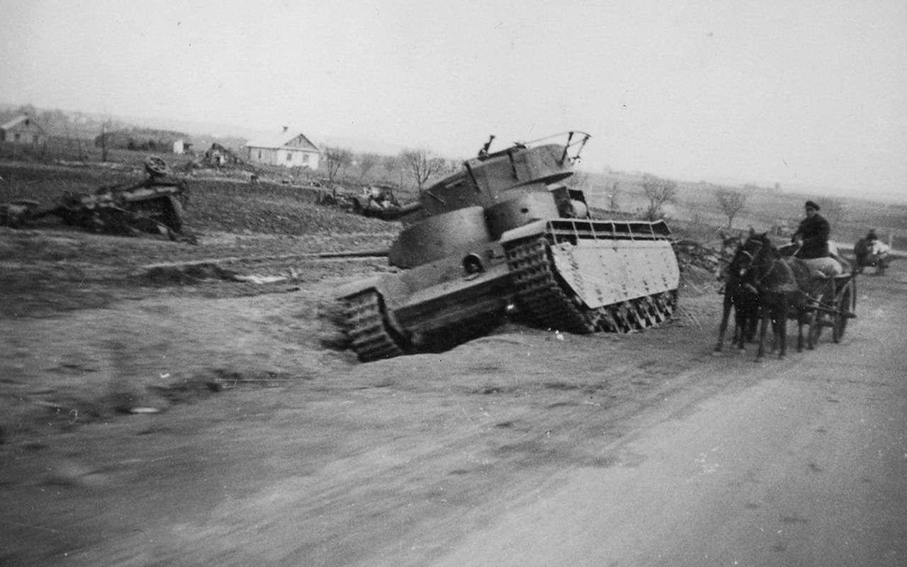 Неизвестный гигант Красной Армии: пятибашенный танк Т-35— фото 974064
