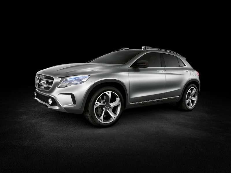 Mercedes Benz GLA Showcar Studio; 2013