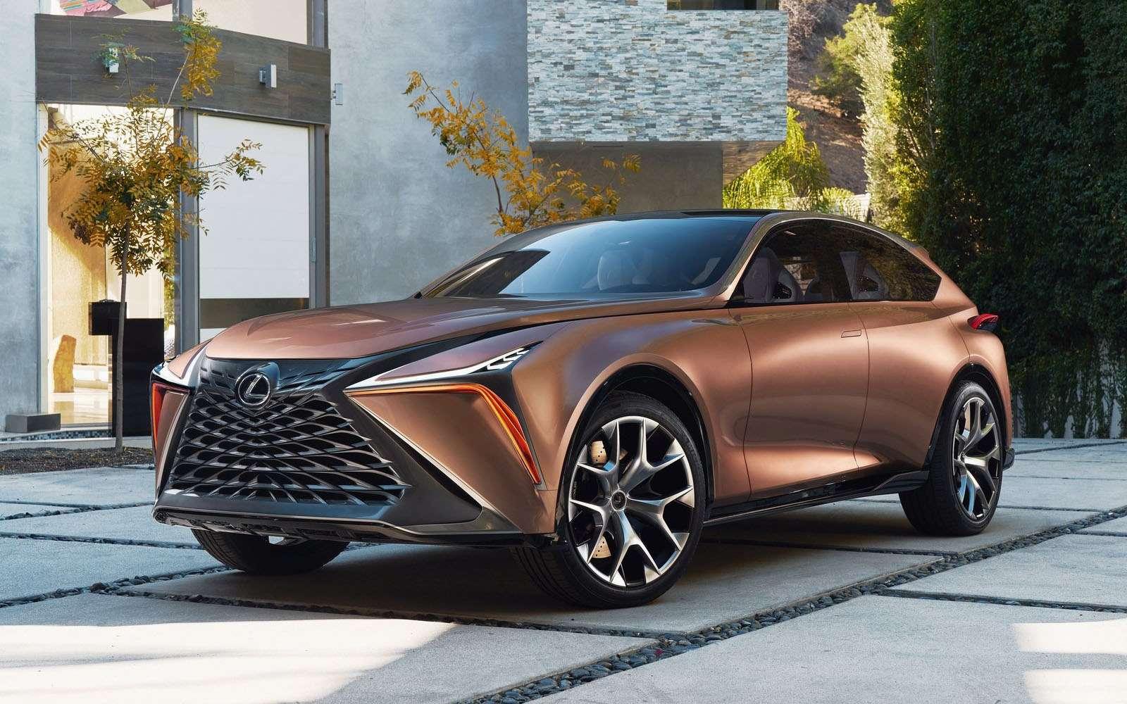 Lexus показал свой будущий флагманский кроссовер— фото 836193