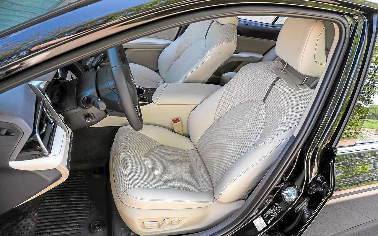Toyota Camry, Kia K5, VWPassat— большой тест-сравнение— фото 1262501