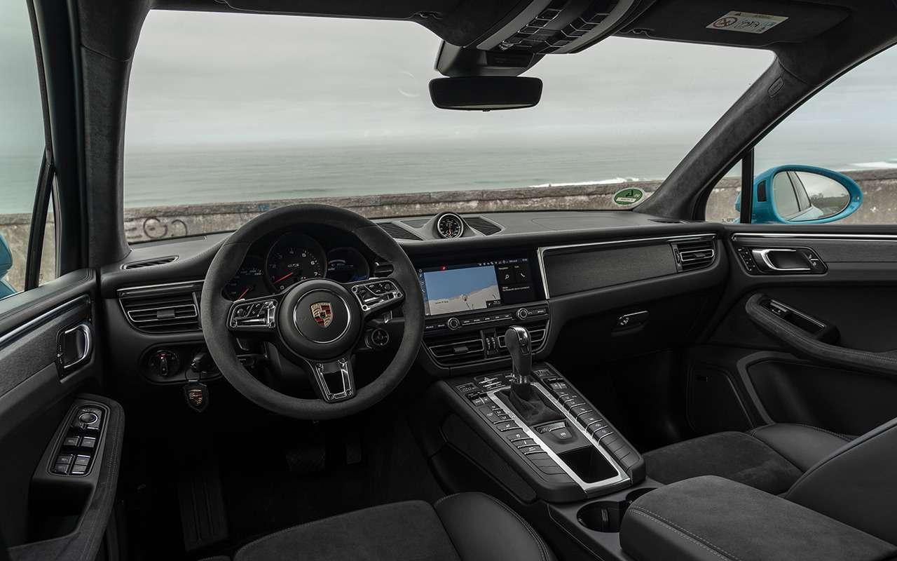 Тест последнего бензинового Porsche Macan— фото 1201233