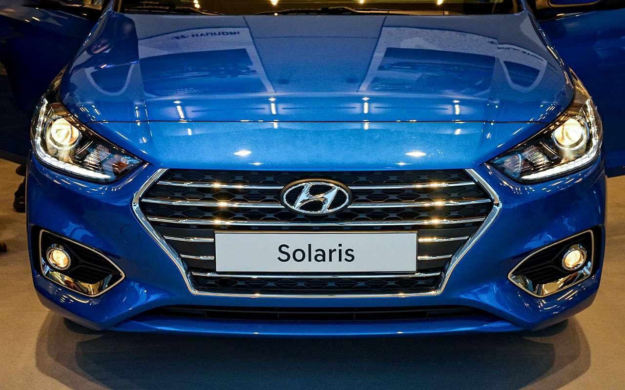 Hyundai Solaris второго поколения вышел изтени— фото 703606