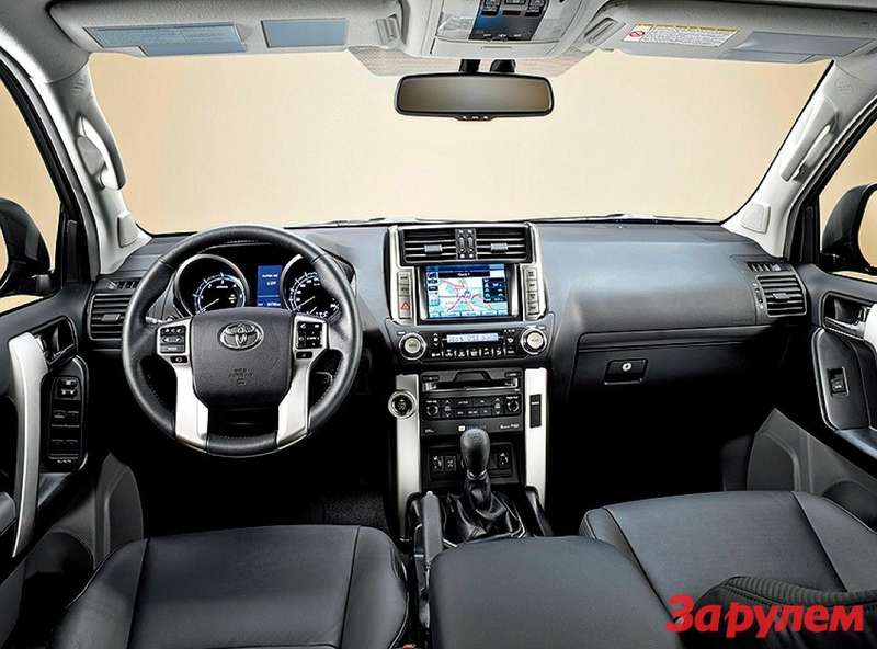 Toyota Prado 2010 interior