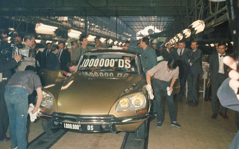 1969 Citroen DS millionth DS built no copyright