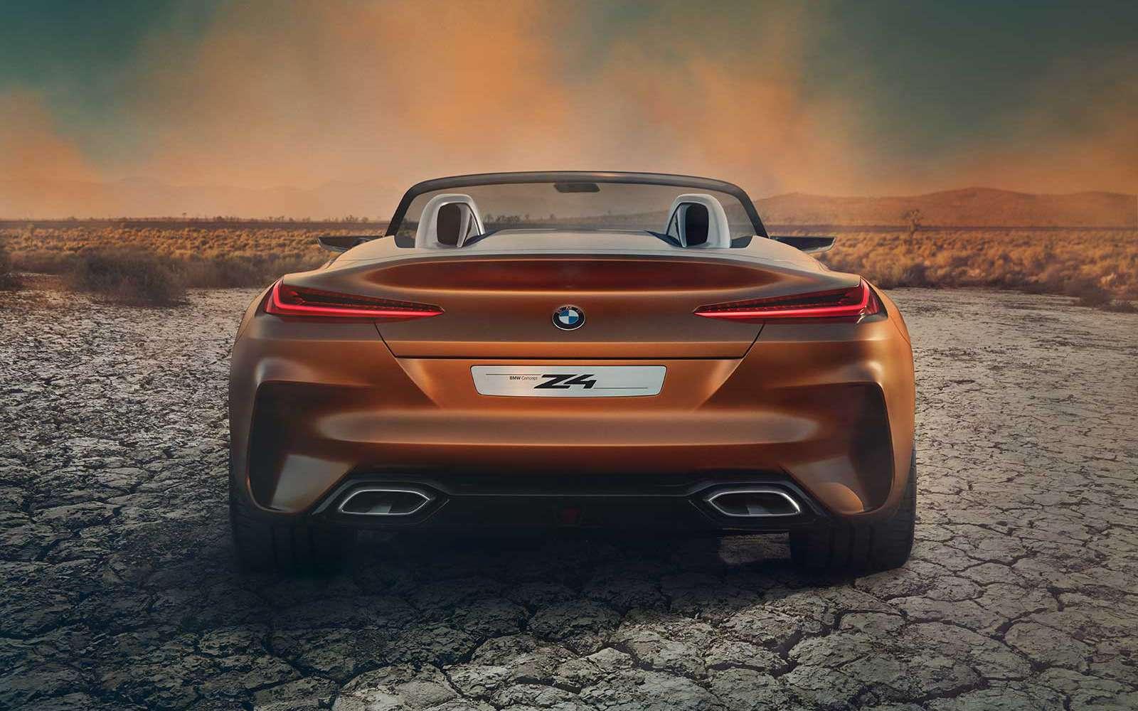 Родстер BMW Z4полностью рассекретили допремьеры— фото 785025