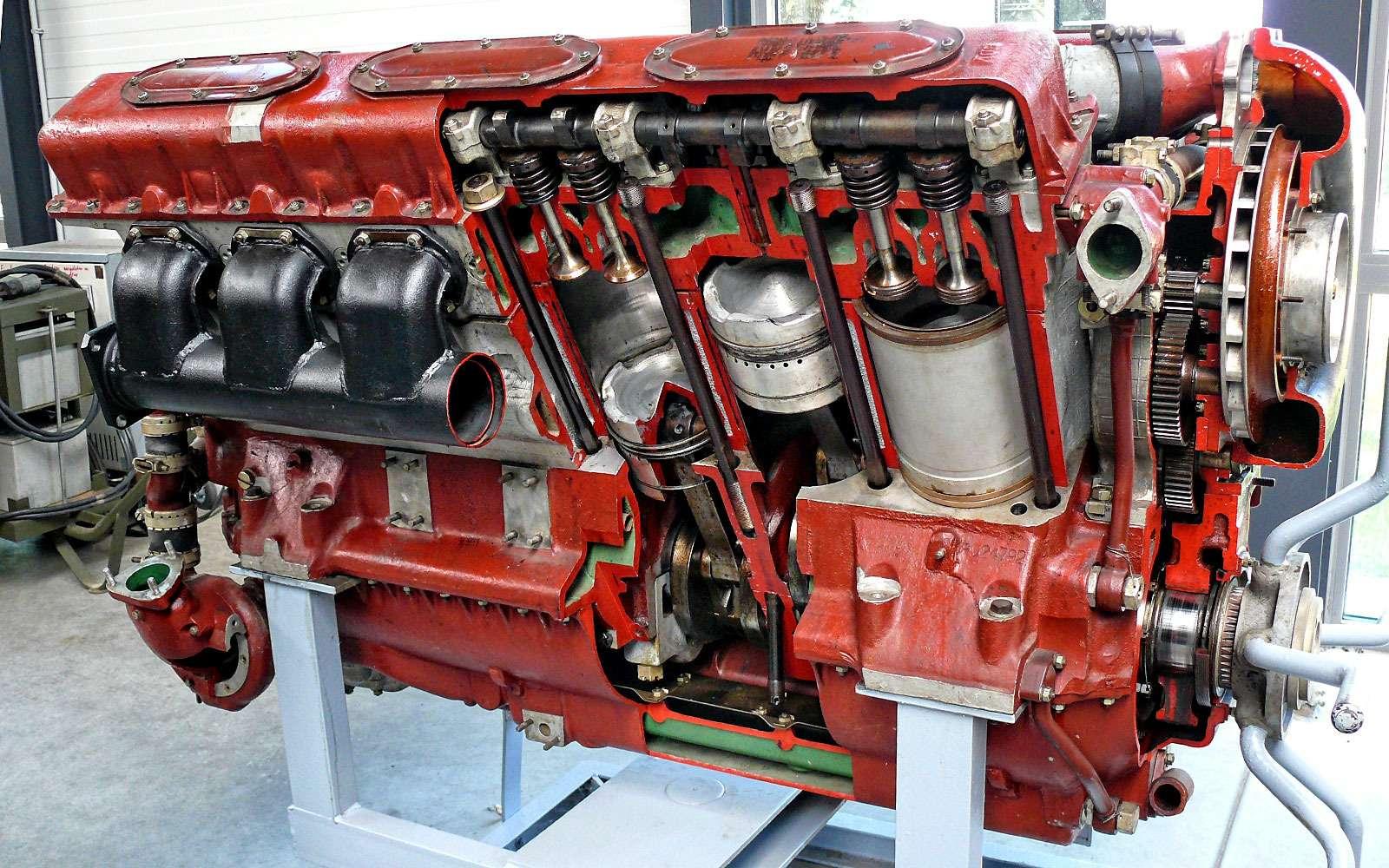 Двигатель В-46