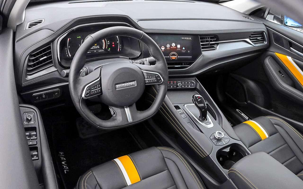 Кросс-купе изКитая, Франции иЯпонии: большой тест «Зарулем»— фото 1079507