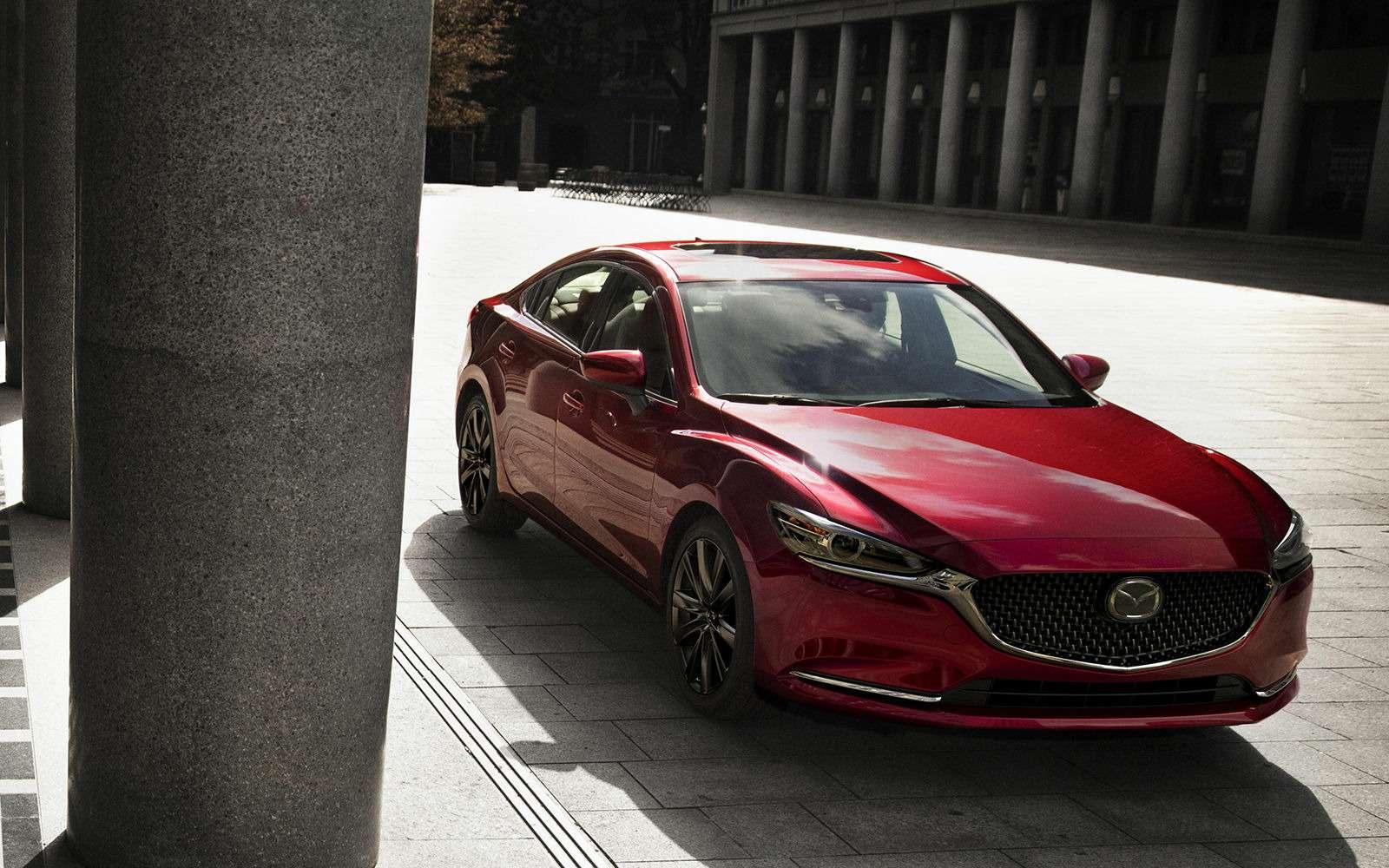 Mazda 6может получить полноприводную версию— фото 834749