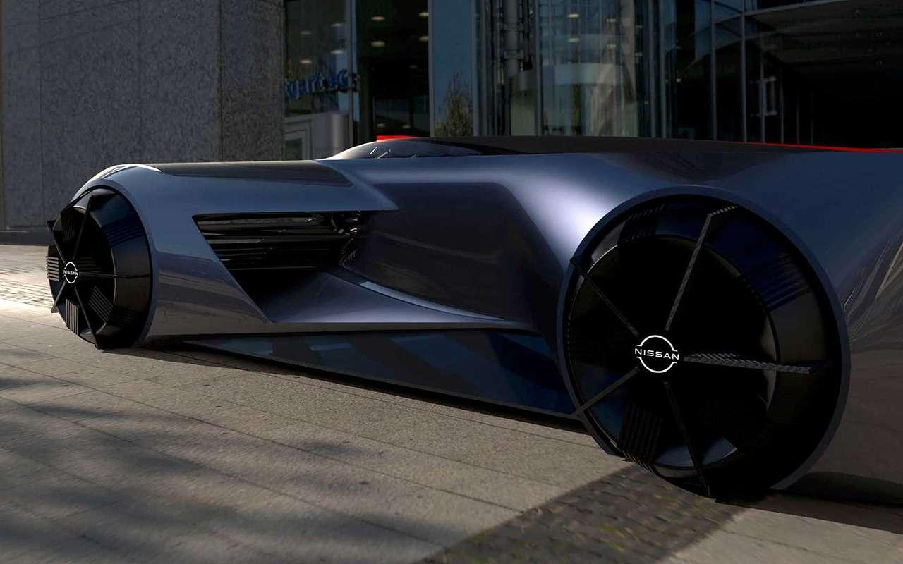 Концепт Nissan GT-R водят лежа наживоте— фото 1209702