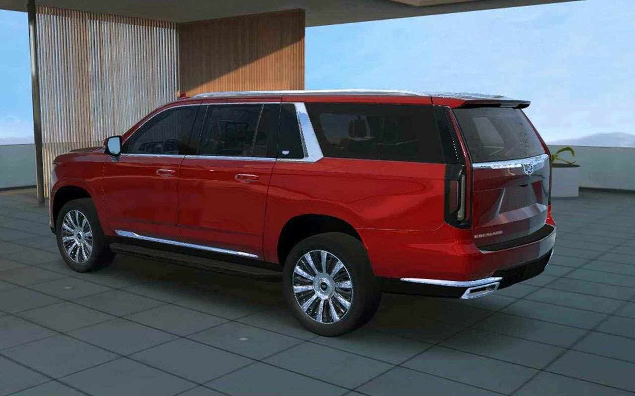 Cadillac представил самый большой Escalade завсю историю— фото 1119465