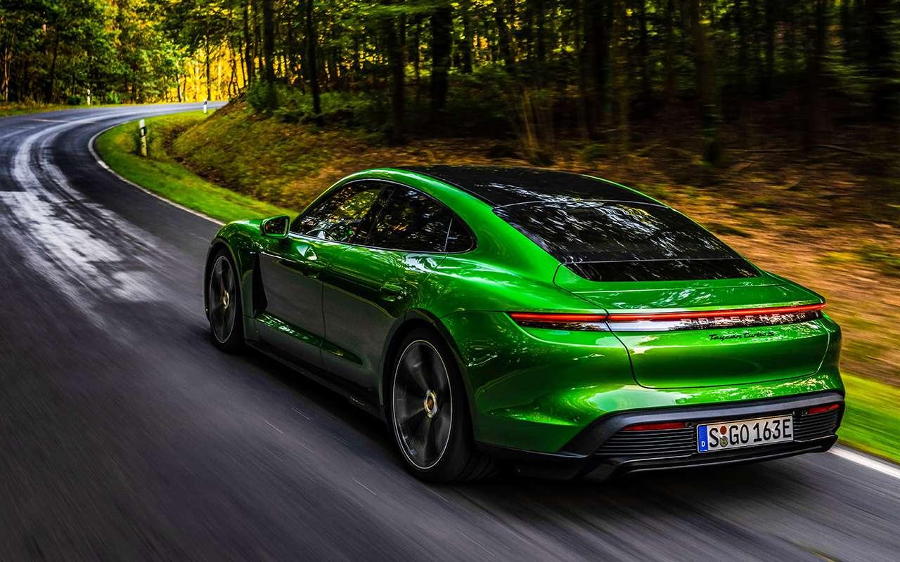 Самый мощный изсерийных Porsche: первый тест-драйв— фото 1011347