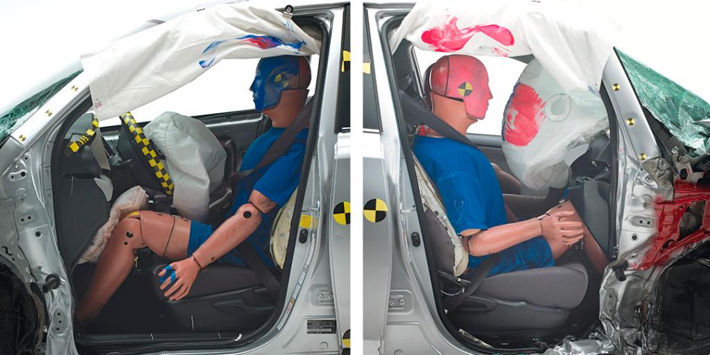 Toyota RAV4 провалил новый краш-тест IIHS— фото 602539