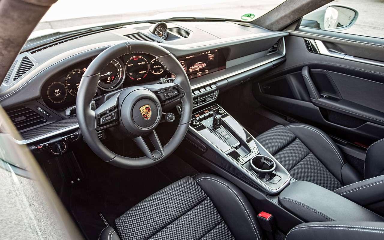 Новый Porsche 911: тест-драйв в«мокром» режиме— фото 950809