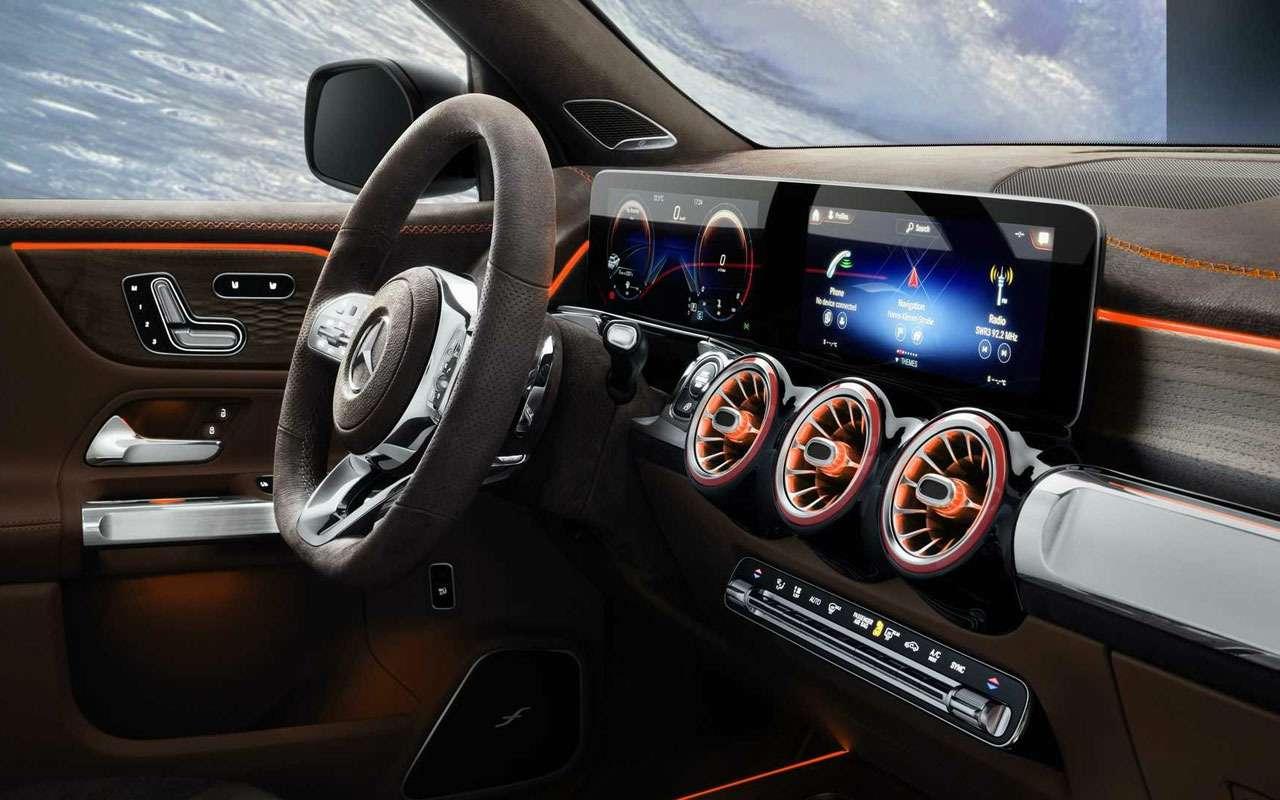 Mercedes-Benz показал компактный семиместный кроссовер— фото 966493