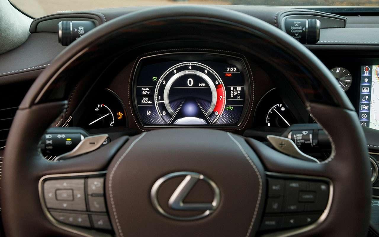 Новый Lexus LS— первый тест-драйв— фото 799450