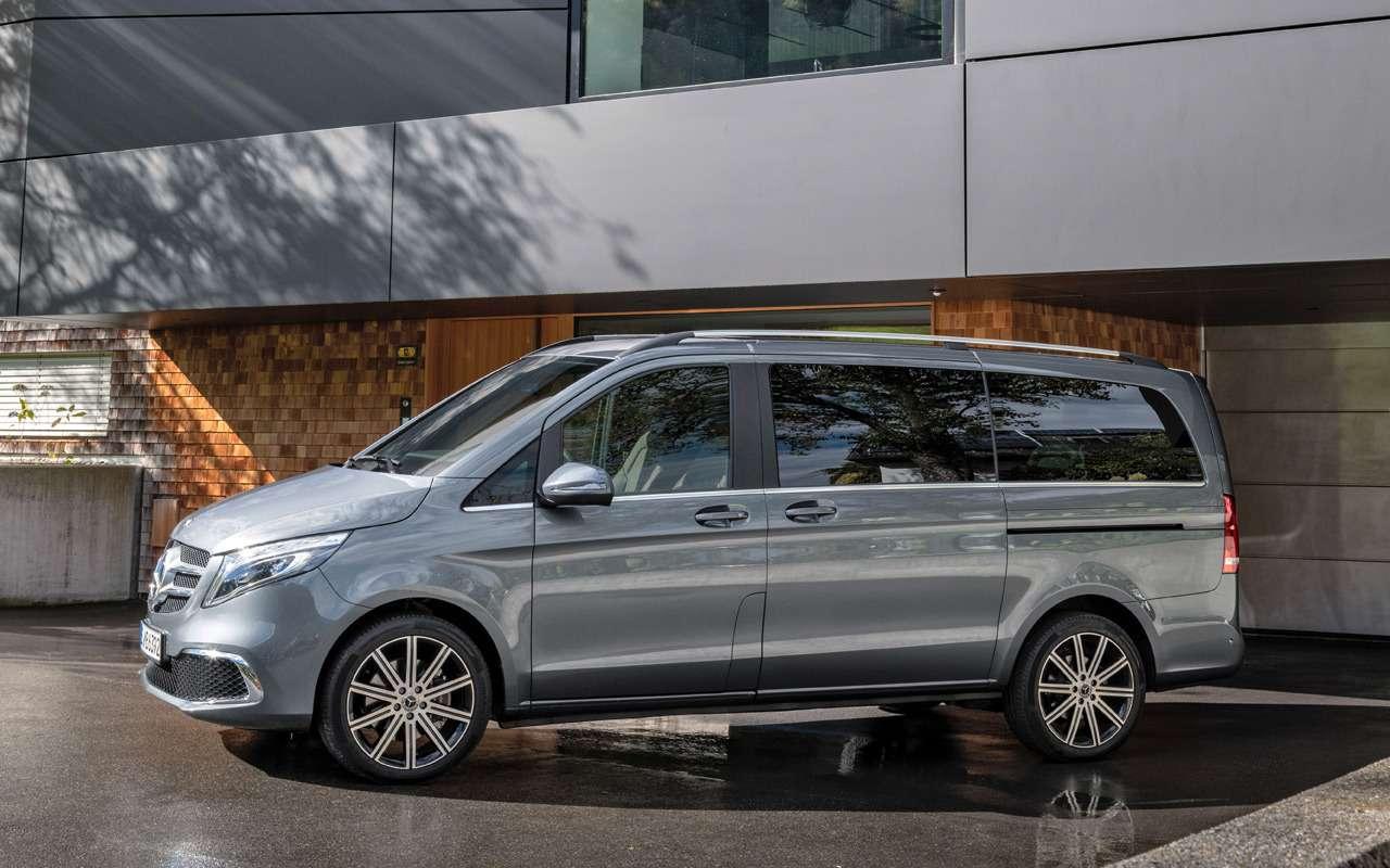 Начался прием заказов наобновленный Mercedes-Benz V-класса— фото 954235