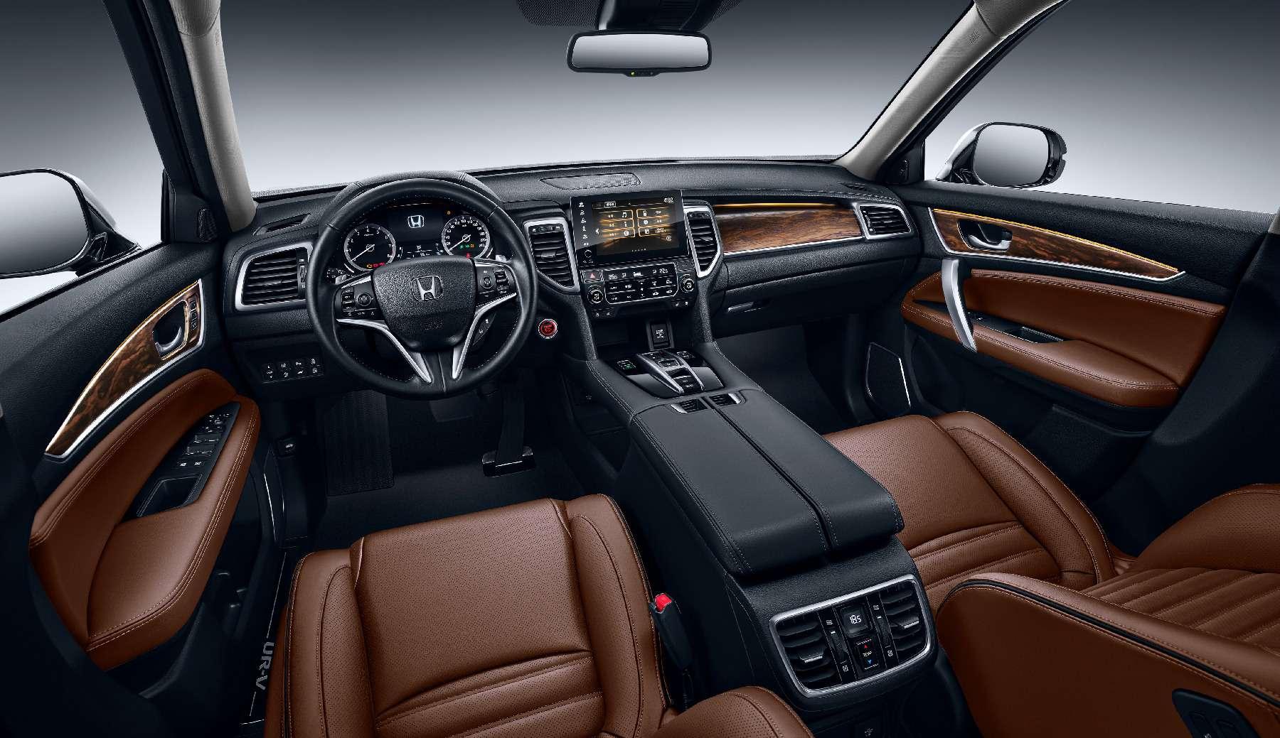 Новый кроссовер Honda UR-V: оннеполучка, неаванс— фото 715527