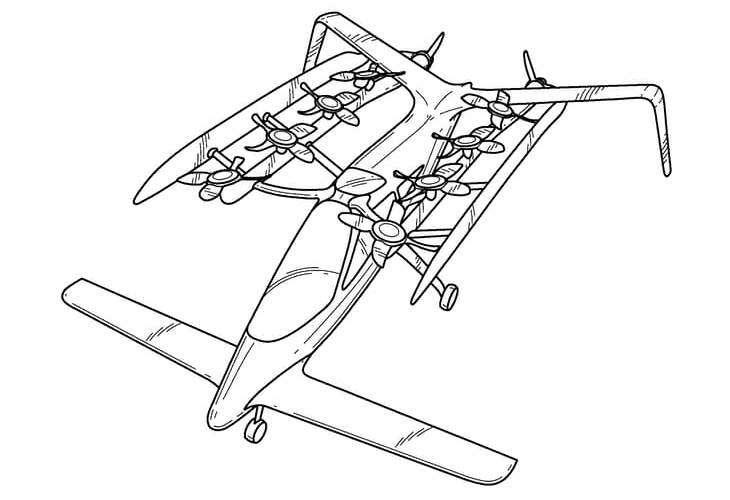 Зачем основатель Google тайно разрабатывает летающий автомобиль?— фото 597150