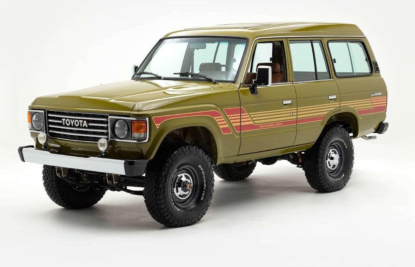 Абсолютно новый Toyota Land Cruiser 1986 года. Да, такое бывает!— фото 877222