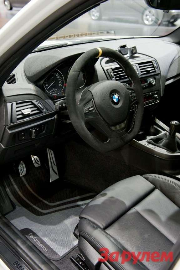 BMW1-series Performance concept inside