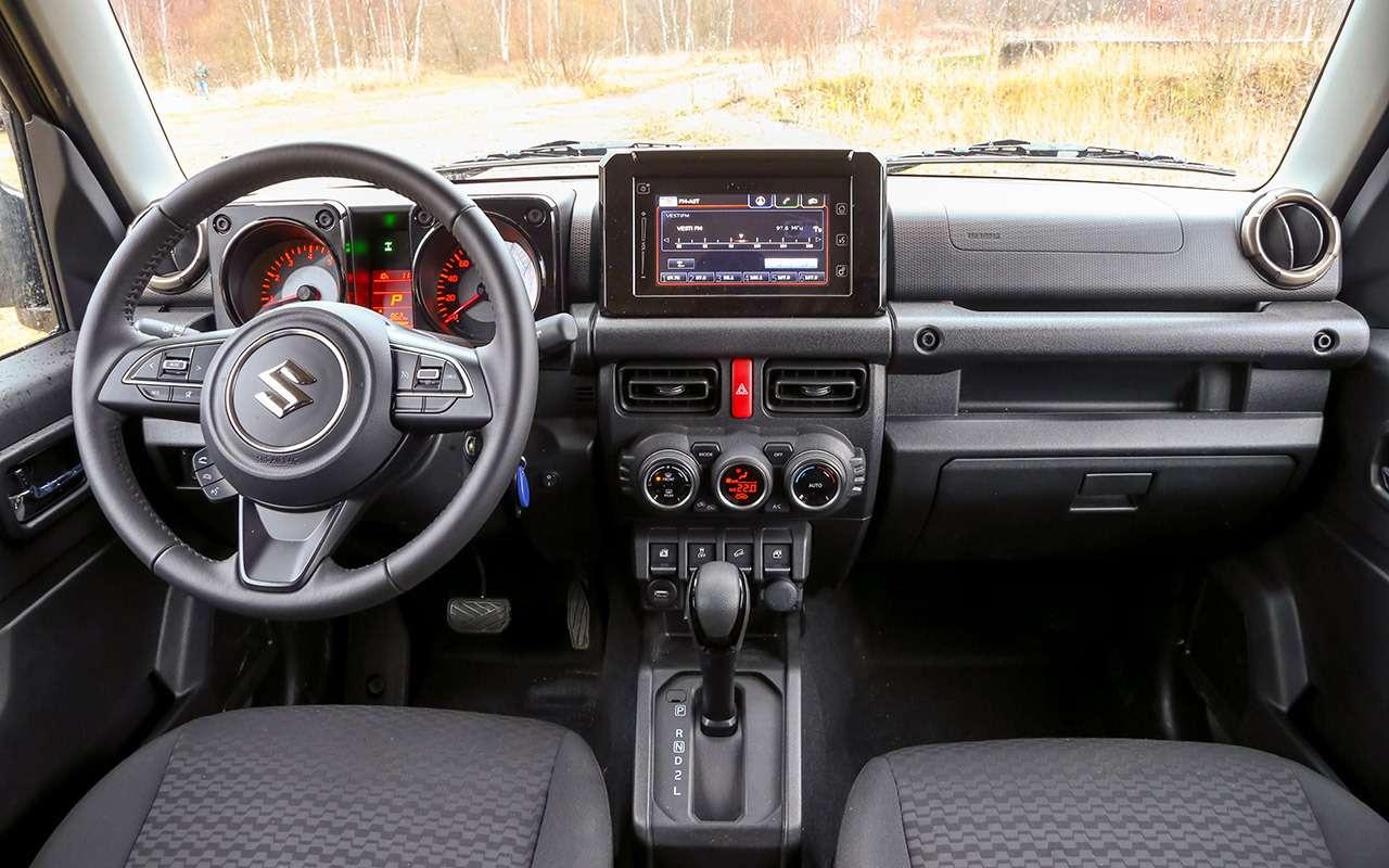 Тест-драйв легенд бездорожья: Lada 4x4, Suzuki Jimny, Jeep Wrangler— фото 1089420