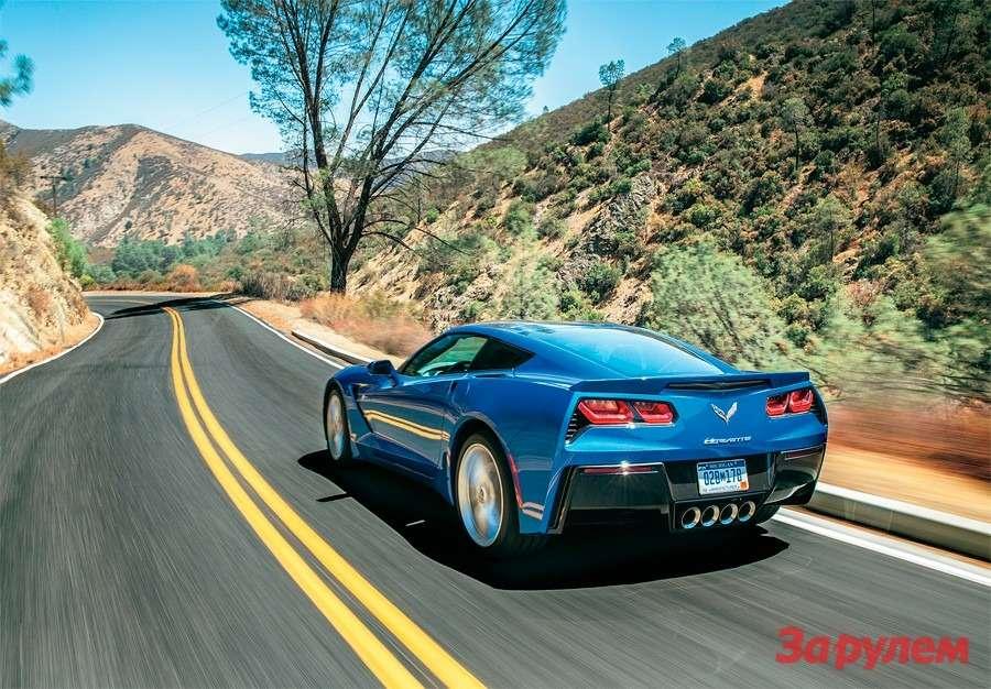 Corvette Stingray: тачка G— фото 259773