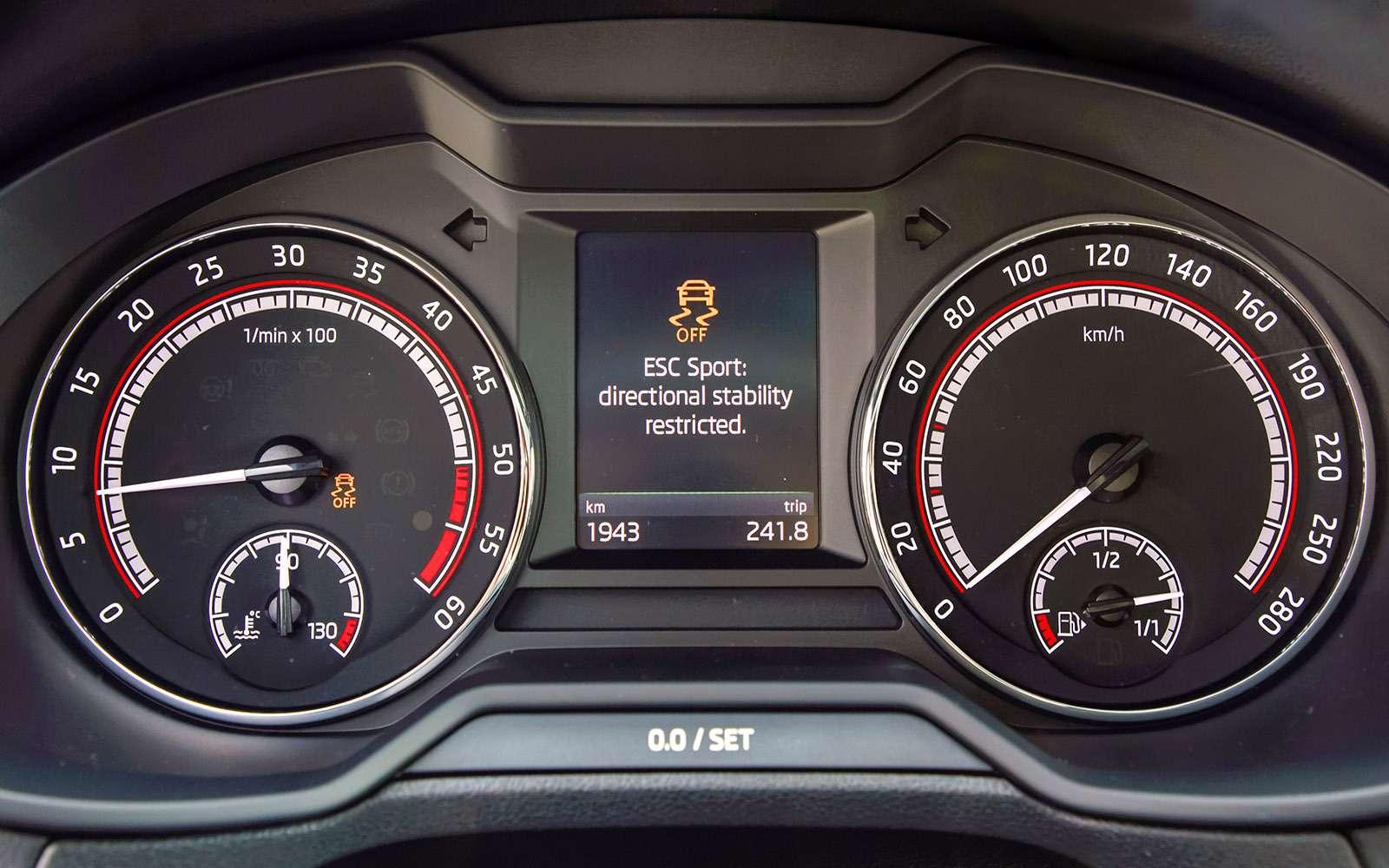 Обновленная Skoda Octavia —  RSпротив Скаута— фото 765298