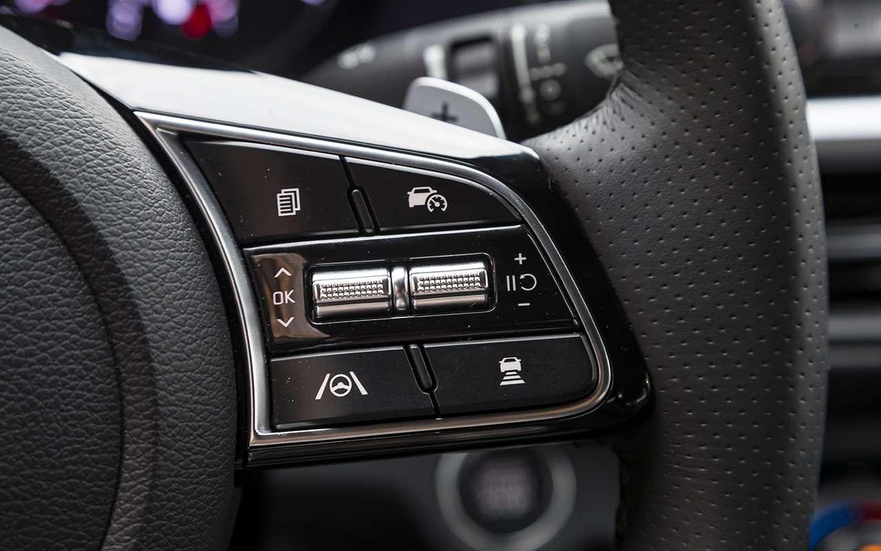 Обновленный Kia Cerato: 2модные штуки, которых нет ниуодной модели— фото 1278252