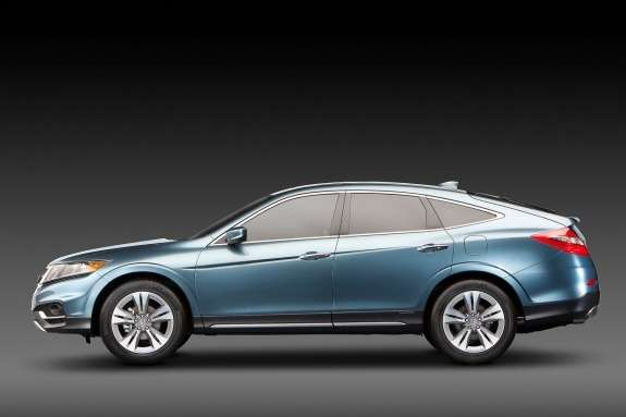 Honda Crosstour Concept side view
