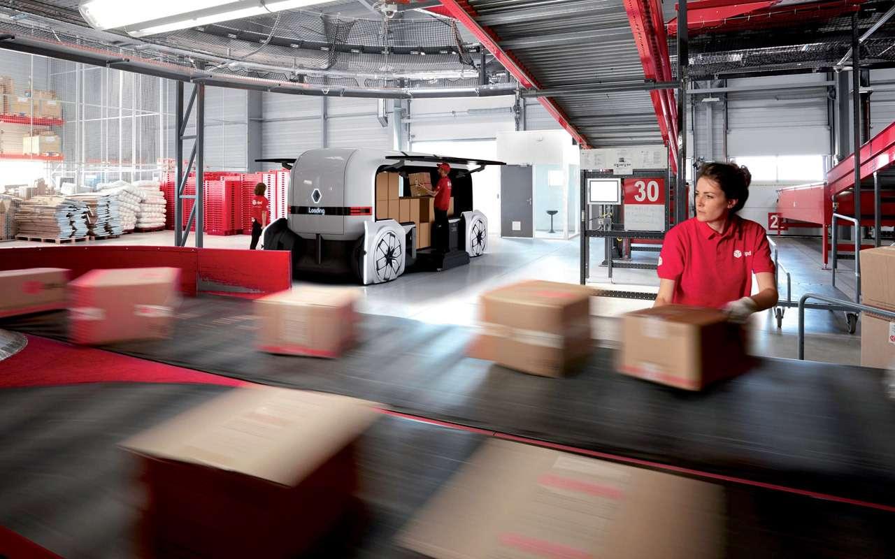 Renault показала, какой будет доставка товаров вбудущем— фото 907002