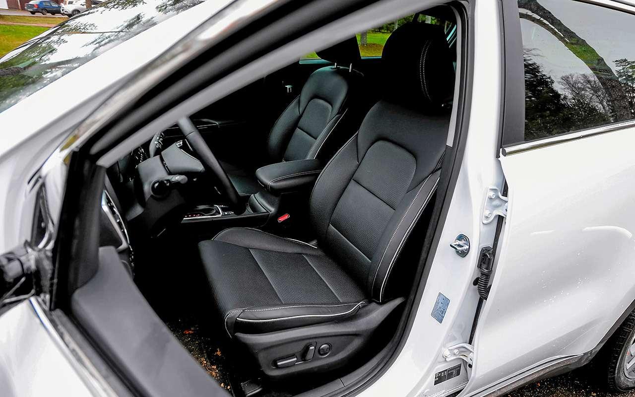 Новый Subaru Forester против конкурентов: большой тест кроссоверов— фото 935681