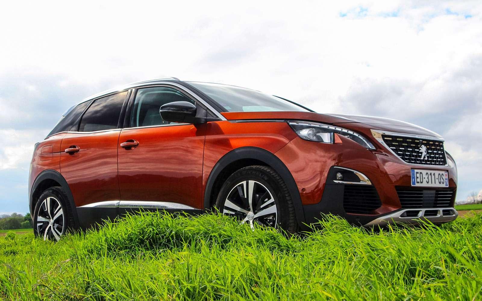 Автомобиль года: тестируем Peugeot 3008— фото 759121
