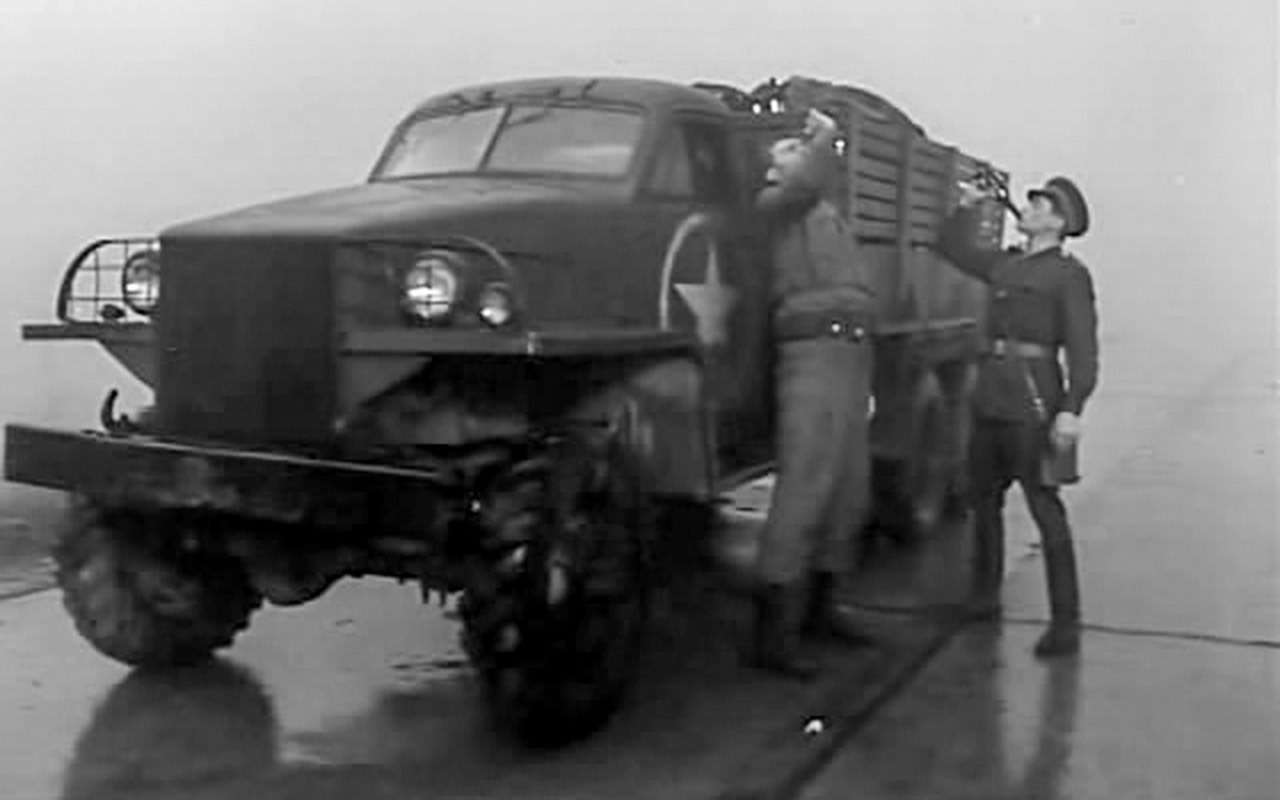 Великая пара Великой Отечественной: ретротест Студебекера сКатюшей— фото 1243993