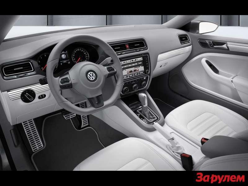 Интерьер Volkswagen New Compact Coupe